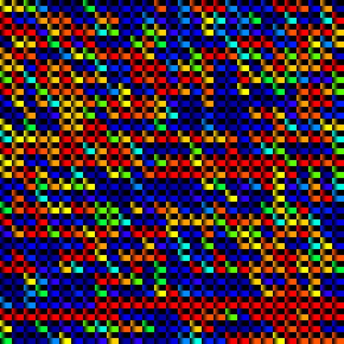 Cubes couleurs Orwell Dans la dèche